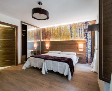 Habitación doble en Hotel Arriola
