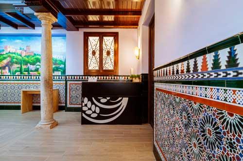 Recepción Hotel Residencia Arriola